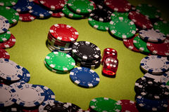 Casino background Stock Photo