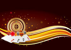 Casino background Royalty Free Stock Photo