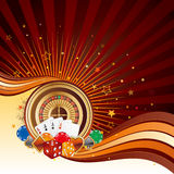 Casino background. Casino design elements,abstract background royalty free illustration