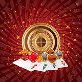 casino background Stock Image