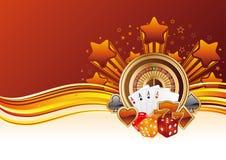 Casino background Stock Photography