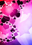 Casino background Stock Images