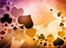 Casino background Stock Image