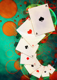 Casino background Royalty Free Stock Photos