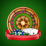 Casino background Royalty Free Stock Image