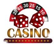Casino background vector illustration
