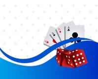 Casino background Royalty Free Stock Photo