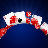Casino Background Royalty Free Stock Photos