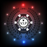Casino background light Vip, casino, poker eps 10. Casino background light , casino, poker eps 10 Royalty Free Stock Image