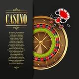 Casino background. Vector  illustration. Royalty Free Stock Image