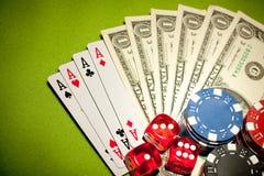 Casino Backkround Royalty Free Stock Images