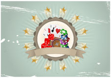 Casino badge Royalty Free Stock Images