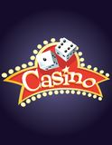Casino Banner Royalty Free Stock Images