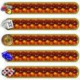 Casino banner set Stock Photos