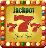 Casino 777 Royalty Free Stock Photos