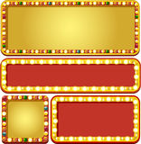 Casino banners Stock Images