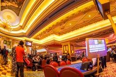 Casino Blackjack table Stock Images
