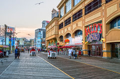 Casino On Boardwalk Royalty Free Stock Photography