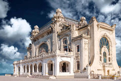The Casino building in Constanta, Romania. royalty free stock photos