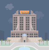 Casino building Stock Image