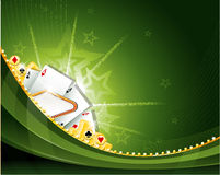 Casino cambling background elements Stock Image