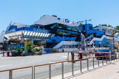 Casino in Cannes, French Riviera, France Royalty Free Stock Images