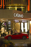 Casino in Cannes at night Royalty Free Stock Photo