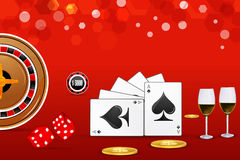 Casino card Royalty Free Stock Photography