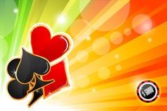 Casino card Royalty Free Stock Photo