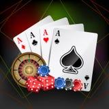Casino Card Stock Photos