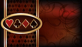 Casino card Royalty Free Stock Photos