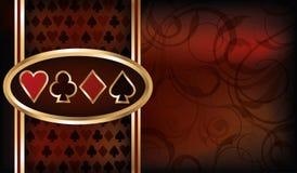 Casino card Royalty Free Stock Photos