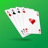 Casino cards concept Royalty Free Stock Images