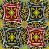 Casino carpet floor pattern. Royalty Free Stock Photos