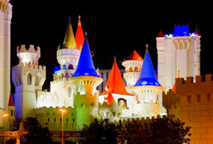 casino castle las vegas Στοκ φωτογραφίες με δικαίωμα ελεύθερης χρήσης