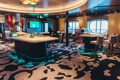 Casino cerrado del transbordador de coche Silja Serenade de Silja Line imagenes de archivo
