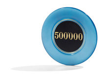 500000 casino chip Royalty Free Stock Image