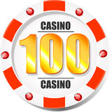 Casino chip Royalty Free Stock Photos