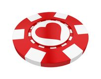 Casino Chip Isolated illustration de vecteur