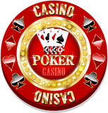 Casino chip Stock Photo