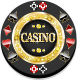 Casino chip Royalty Free Stock Image