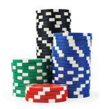 Casino chips Stock Photo