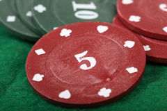 Casino chips Royalty Free Stock Photo