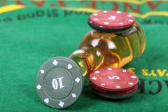 Casino chips Royalty Free Stock Photos