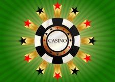 Casino chips Stock Image
