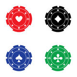 Casino chips Royalty Free Stock Photography