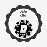 Casino club design Royalty Free Stock Photography