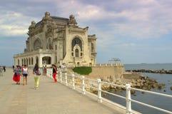 Casino on the coastal promenade,Constanta Royalty Free Stock Photography