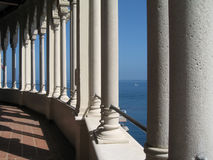 Casino Columns Catalina Stock Photography