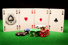 Casino concept Royalty Free Stock Image